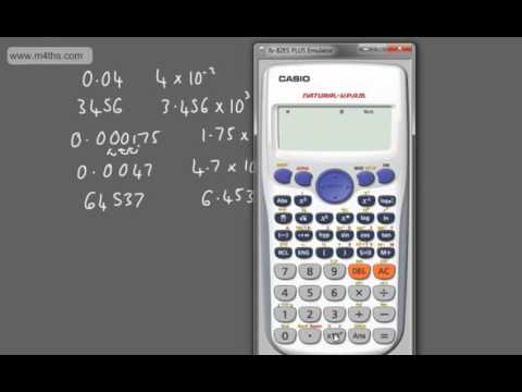 GCSE Tutorial   Standard Index Form and Scientific Notation