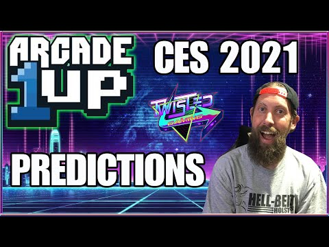 Arcade1Up CES 2021 Predictions Mortal Kombat | Killer Instinct | Bigger Screens from TwistedGamingTV