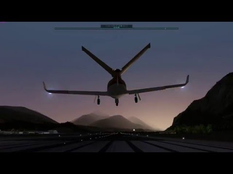 Flying the Cirrus Jet - Stall nearly leads to disaster!  Austria Dusk Rate 90