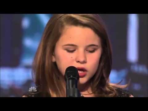 Une fille chante pour son homme en europe 6