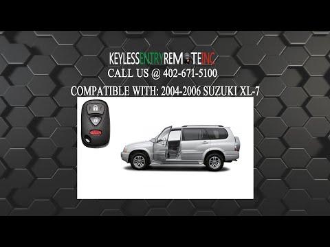 How To Replace Suzuki XL 7 Key Fob Battery 2004 2005 2006