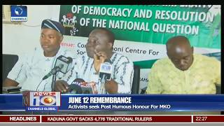 June 12 Remembrance: South West Governors Declare Public Holiday