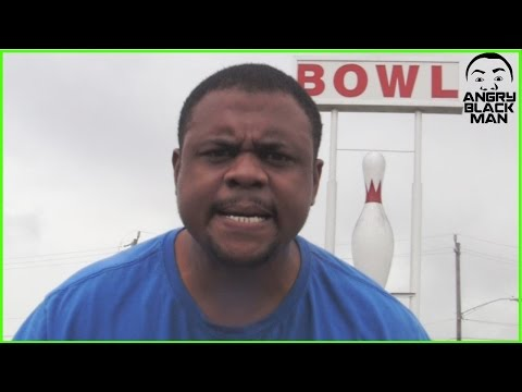 BLACK MAN ANGRY AT BOWLING ALLEY @dcigs