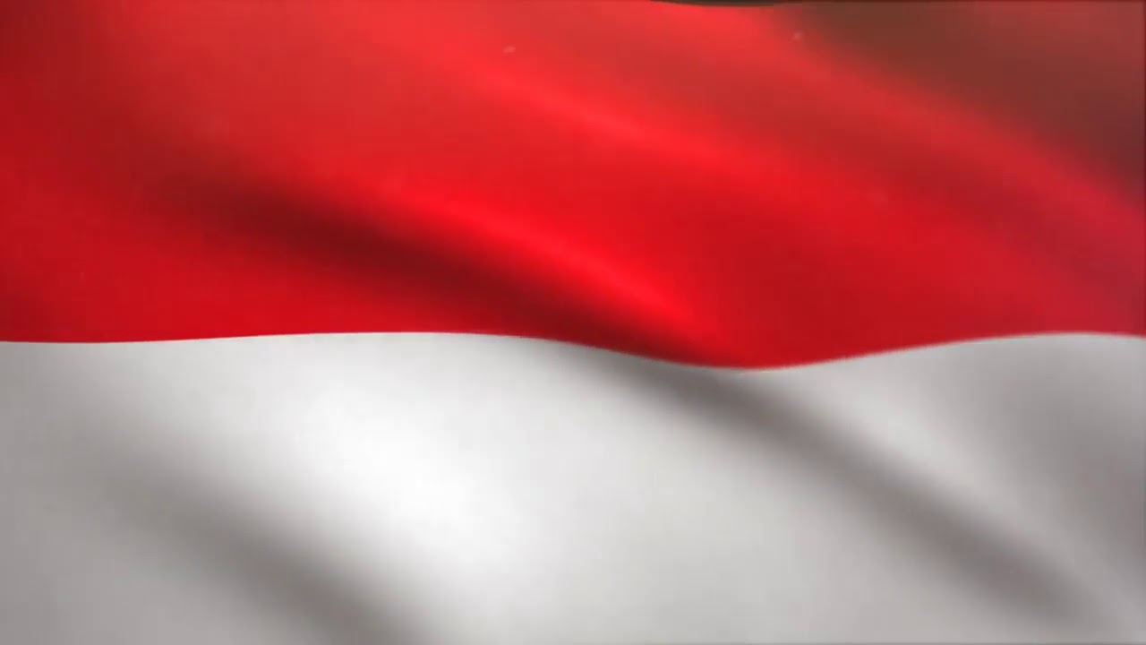Animasi Bendera Merah Putih Bergerak Youtube