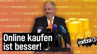 Torsten Sträter: Pressesprecher der Online-Versandhändler