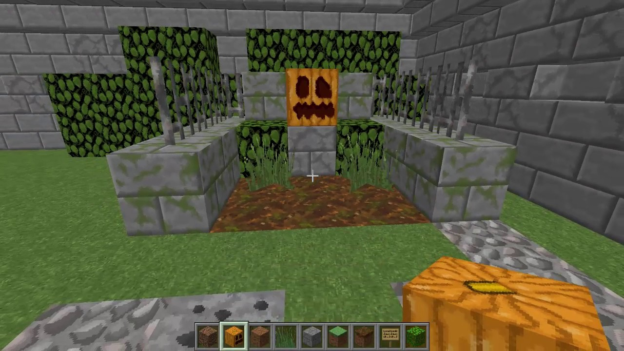 Minecraft Grabstein