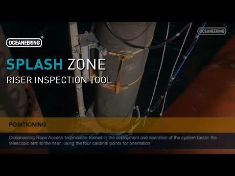Splash Zone Riser Inspection Tool | Oceaneering