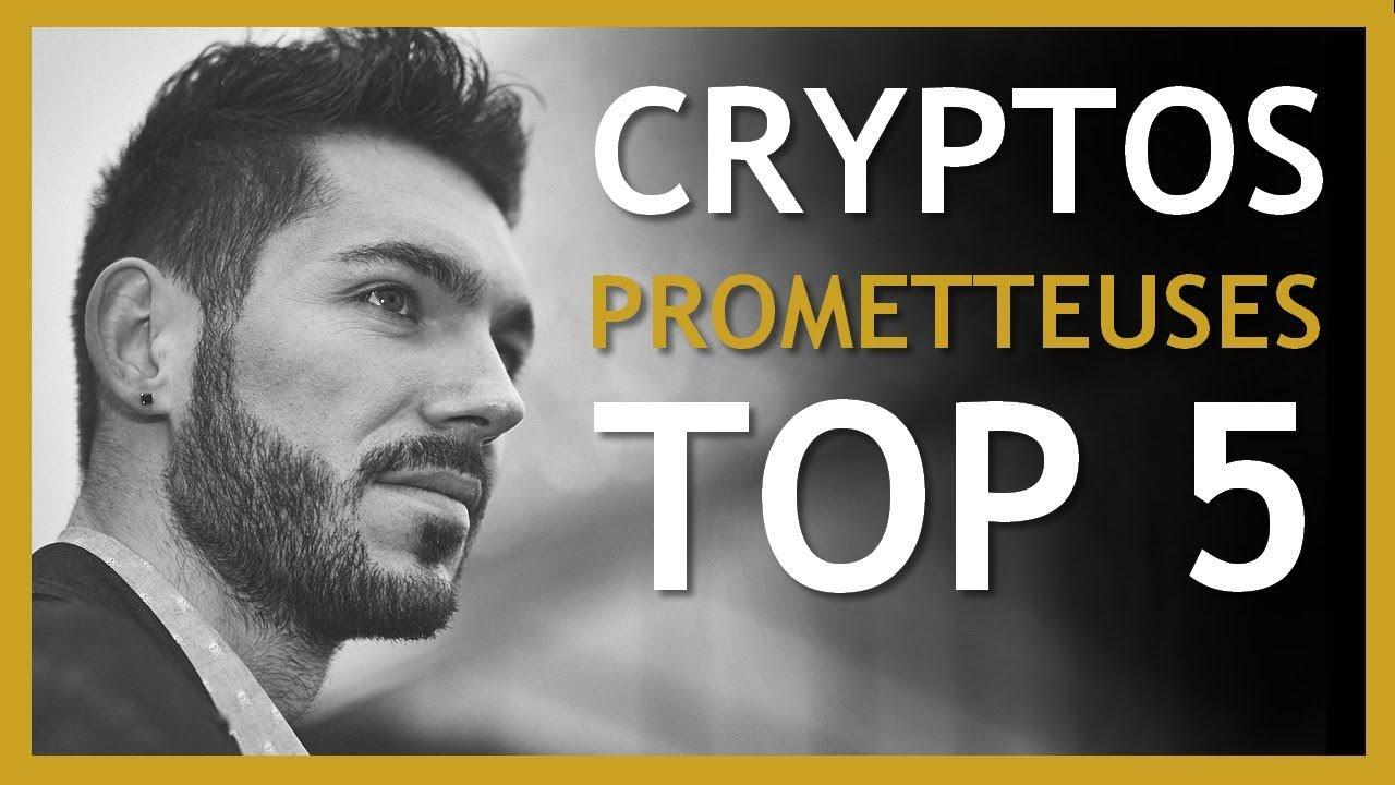 Crypto monnaie prometteuse : TOP 5 crypto monnaies 2021