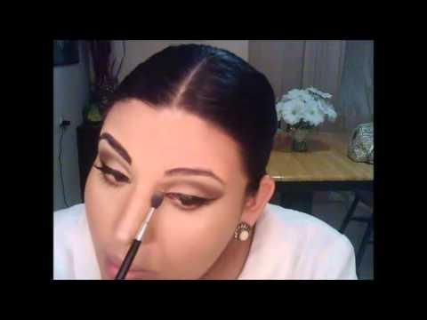 maquillaje elegante y natural de dia