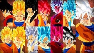 Goku DBS Costume All Transformations   Dragon Ball Z Budokai Tenkaichi 3