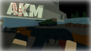 NEW AKM GAMEPLAY (85-9) | ROBLOX Phantom Forces [BETA]