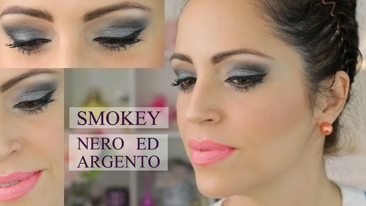 Assez Smokey Nero ed Argento - Tutorial Trucco - YouTube ET06