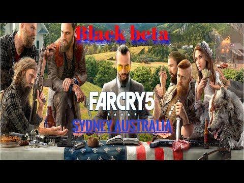 Far Cry 5 Black Beta Event Sydney Australia