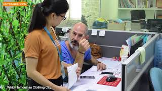 Qistar china jacket outerwear garments factory video