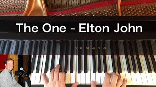 The One - Elton John - Piano Cover