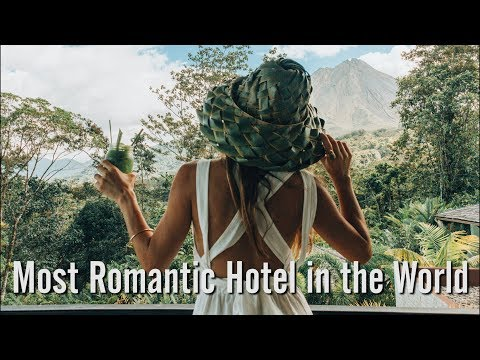 MY STAY AT THE MOST ROMANTIC HOTEL IN THE WORLD! (Nayara Springs) | Whitney's Wonderland
