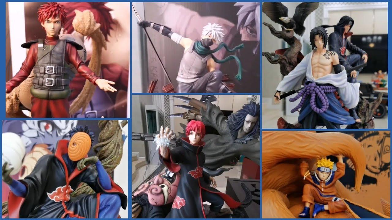 Unboxing Gaara • Kakashi • Sasuke & Itachi 1/7 • Obito 1/8 • Sasori 1/7• Naruto & Kyubi 1/8 Statues