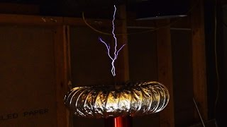 """Solid State Tesla Coil - 12"""" Breakout"""