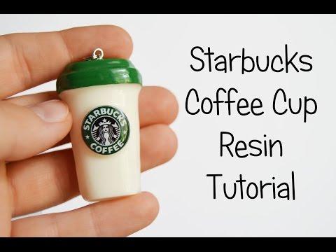 Starbucks Coffee Cup Resin Tutorial