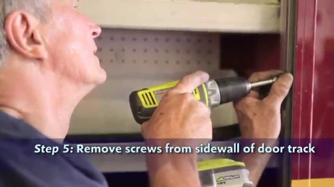 R-O-M Roll-Up Door Replacement & R-O-M Roll-Up Door Replacement - YouTube Pezcame.Com