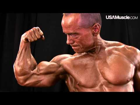 2014 NPC Masters Nationals Men's Backstage Posing (Over 50/60/70)