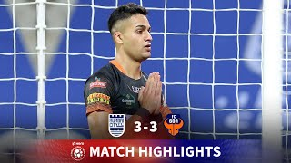Highlights - Mumbai City FC 3-3 FC Goa - Match 87 | Hero ISL 2020-21
