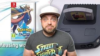 Pokemon Sword & Shield REACTION + N64 HD Clone REVEALED!