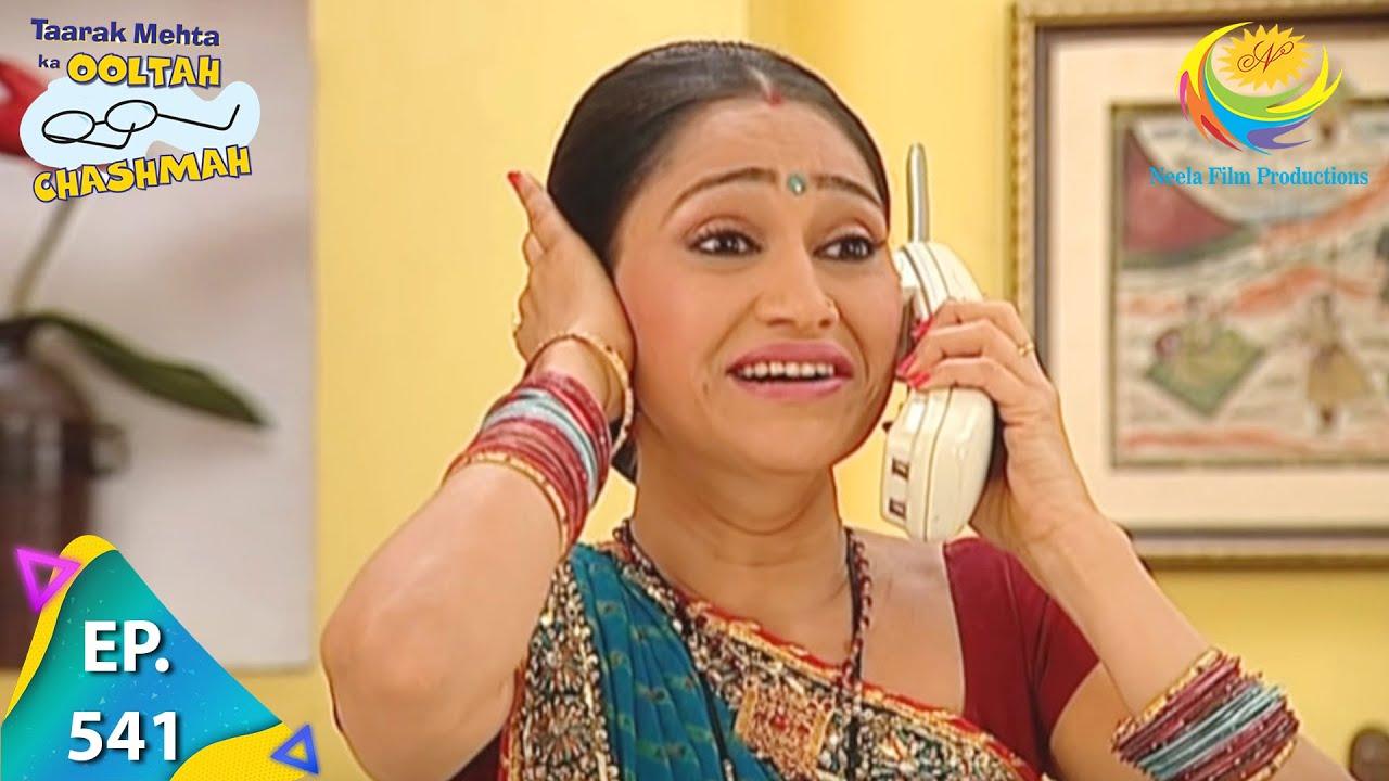 Download Taarak Mehta Ka Ooltah Chashmah - Episode 541 - Full Episode