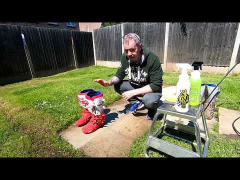 Moto Vlog 8 How To Clean Your Motocross Boots Like A Pro