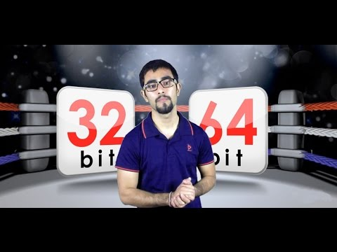 Diffrence between 32bit & 64bit version of windows (Hindi)