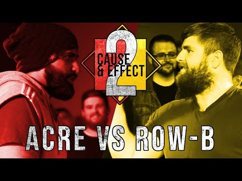 ACRE VS ROW-B | DubScandal Rap Battle