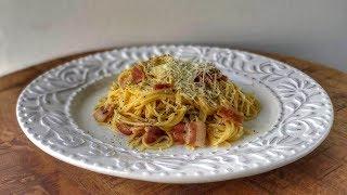 Классическая Паста Карбонара   Рецепт   Знаем что готовить!