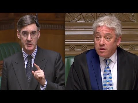 """BREXIT: Jacob-Rees Mogg WARNS Speaker Bercow """"people feel been bounced, hurried and harried"""""""