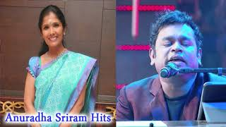 Top 10 Tamil Songs of Anuradha Sriram with AR Rahman