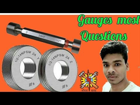 gauges used in machine shop top technical   Questions By special techno.