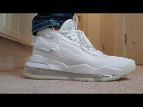 Jordan Proto Max 720 White Pure Platinum Review and On Feet