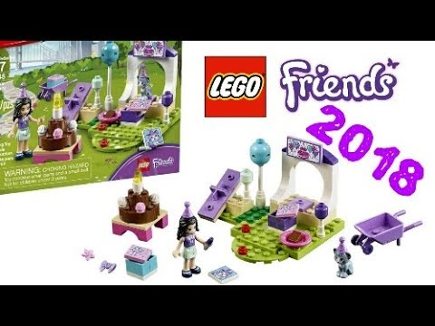 LEGO News: LEGO Friends winter 2018 sets, Emma's Pet Party, set ...