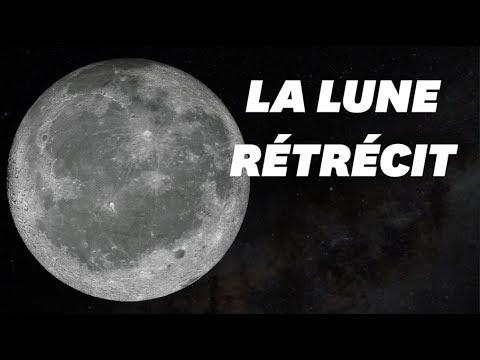 La Lune rétrécit et cela engendre des tremblements à sa surface