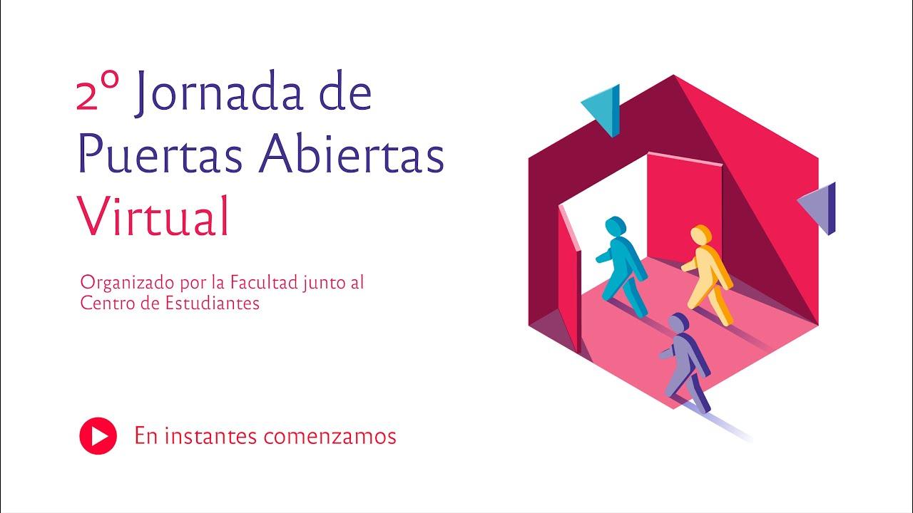 Jornada de Puertas Abiertas (JPA) - Segunda edición virtual