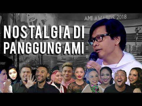 Nostalgia panggung AMI Awards | Armand Maulana | VLOG