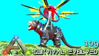 ARK: SURVIVAL EVOLVED - MYTH AKAT'S DEVIL PET TEK THYLACOLEO E109 !!! ( ARK EXTINCTION CORE MODDED )