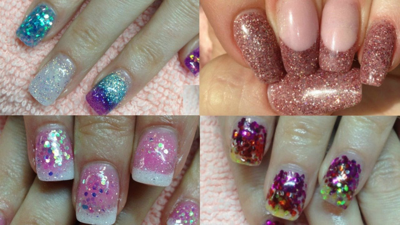 Acrylic Nail Art Tutorials Compilation 1 Youtube