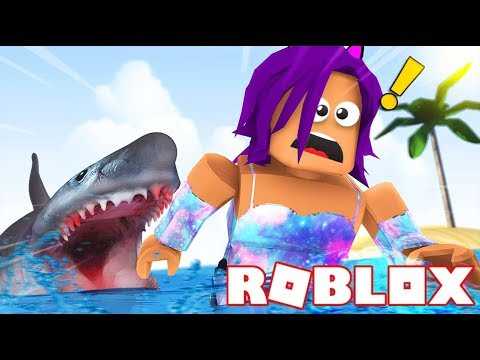 Shark Attack In Roblox!