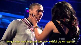 Jordin Sparks Chris Brown No Air Live At American Idol Legendado