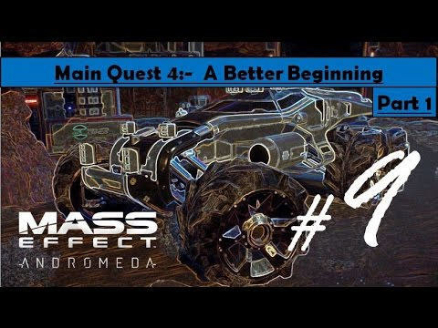 Mass Effect Andromeda - A Better Beginning | Go to Tempest, Find code, search glyph, Entrance