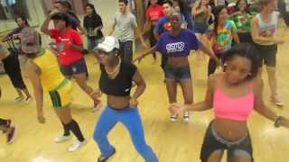 "P-Square ""Personally"" Dance Class Reggae Soul MVMT Chicago"