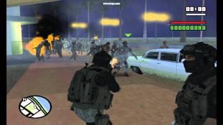 Gta San Andreas (Resent Evil Mod) [HD+HQ]
