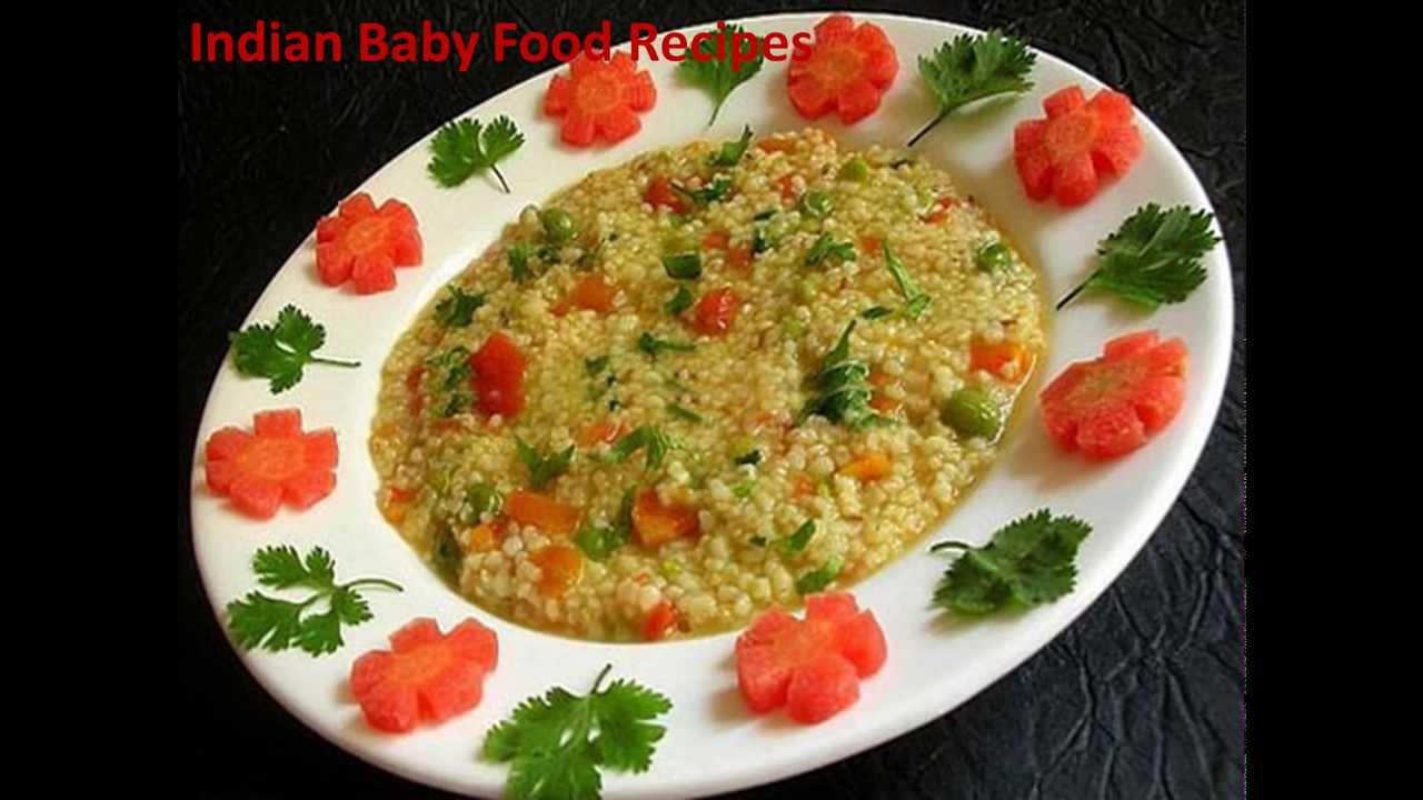 Months Old Baby Indian Food Recipes