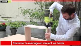 Fabriquer une bibliothèque étagères, meuble en bois design