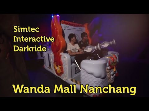 Simtec Darkride @ Wanda Mall in Nanchang, China